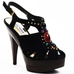 Tifanni - Black Suede - My collection from top #designers