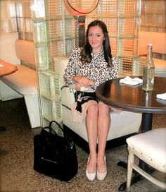Wake Up Your Wardrobe  What I Wore: Leopard + Stripes