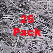Candle wicks (pkg. 25) from Candles and Supplies.com $2.95