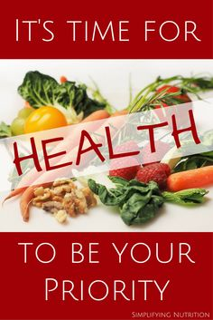 Why take your health for granted? Make nutrition and fitness your top priority. Join my 28 day challenge and become that healthier version of yourself. Kaitlyn @ SimplifyingNutrition.com
