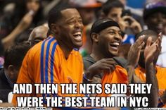 Man this made me laugh. I was made wen Ppl said that this offseason! #KNICKSNATION