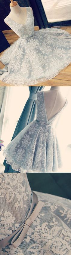 Short Prom Dresses, Blue Prom Dresses, Prom Dresses Short, Light Blue Prom Dresses, Backless Prom Dresses, Blue Short Prom Dresses, Custom Prom Dresses, Blue Homecoming Dresses, Homecoming Dresses Short, Prom Short Dresses, Light Blue dresses, Short Homecoming Dresses, Bowknot Prom Dresses, Mini Homecoming Dresses