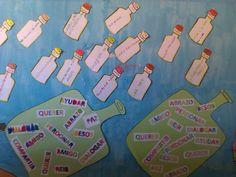 Con motivo del Día de la Paz realizamos este mural, en el que cada uno de los peques escribió un mensaje relacionado con la Paz.          ...