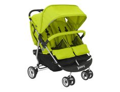 Best Double Stroller for Storage  We know you've got your hands full. That's why we love the extra-large basket under the Joovy ScooterX2 stroller. $230, Joovy.com