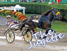 The Jugette is today! It's a $296,050 Harness Race for 3 yr old Fillies at the Delaware Race Track.    To watch live and wager on the race, join www.darkhorsebet.com  with the referral code LBJMATCH and Dark Horse Bet will match your first deposit up to 100 dollars. Same thing goes if you stop by our booth at the Delaware Fairgrounds. Good luck! #Horse #Racing #Betting