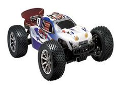 The Thunder Tiger ST-1 Stadium Truck comes in 1/8th scale and is ready to run. This radio control super combo from Thunder Tiger will match the best with its performance. The Thunder Tiger ST-1 Stadium Truck comes with a race proven extra-long anodized aluminum chassis for added durability, super strong composite arms, and adjustable pivot balls. Both front and rear sway bars are also standard. An oversized 150cc fuel tank will squeeze the fuel to the last drop to maximize your run time.