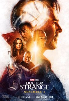 Beautiful illustrated Doctor Strange posters created by the brilliant Paul Shipper