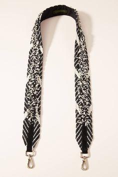 Zuma Bag Strap by Anthropologie in Black Size: All, Bags Leather Shoulder Bag, Shoulder Strap, Purse Strap, Purse Styles, New Bag, Handbag Accessories, Purses And Bags, My Style, Anthropologie