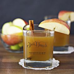 Apple Cider Bourbon Whiskey --> delicious, simple, and easy. Basically perfect, esp with some cinnamon