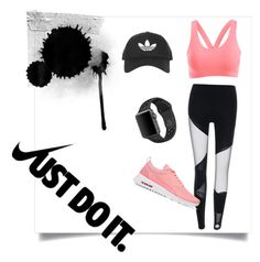 """Sporty"" by charlottemcharg on Polyvore featuring NIKE and Topshop"