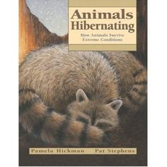 Book, Animals Hibernating: How Animals Survive Extreme Conditions by Pamela Hickman