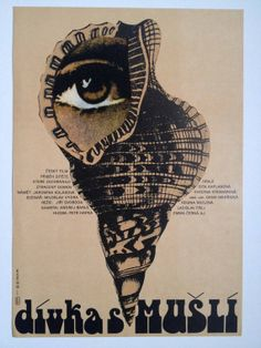 Original vintage film poster  Divka s musli / Das by jozefSquare, £55.00
