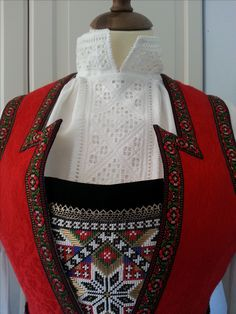 Made by Inger Johanne Wilde Hardanger Embroidery, Traditional Outfits, Norway, Diy And Crafts, Clothes, Fashion, Feminine Fashion, Needlepoint, Projects