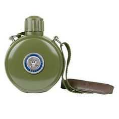 Navy Colored Logo Canteen with Compass ** Click image to review more details.
