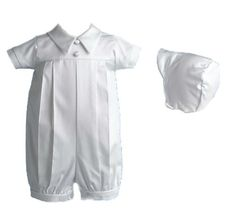 Lauren Madison baby boy Infant Christening Baptism Polished Short Romper , White, 18 Months Lauren Madison,http://www.amazon.com/dp/B003ZY75KG/ref=cm_sw_r_pi_dp_6Mjstb0ZSJYB0489