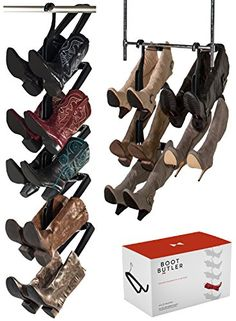 Boot Butler 5Pair Boot Rack  Boot Organizer  Boot Shaper BlackChrome  BB1015H4LBLCH * Be sure to check out this awesome product.
