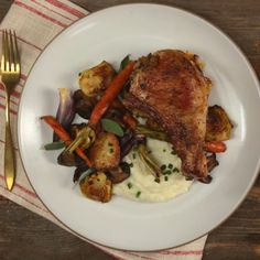 Pork chops are best enjoyed when stuffed with even more flavorful pork.