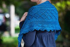 Ravelry: Mystification (Summer 2013 Mystery Shawl) pattern by Hannah Ingalls