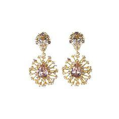 Oscar De La Renta Firework Clip-On Drop Earrings 7vBQ29PAa