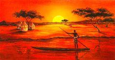 cuadros etnicos africanos chile
