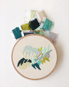 Valeria Molinari embroidery