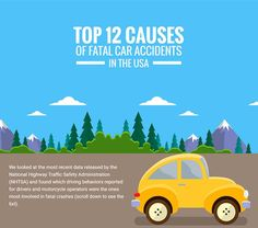 12 Top Causes of Fatal Car Accidents in the USA