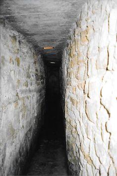 Tunnel under the Milton House for the Underground Railroad - Milton, Wisconsin