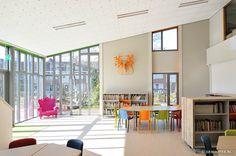 Chiel de Nooyer - Aula/zitruimte Bassischool De Kariboe, Heemskerk
