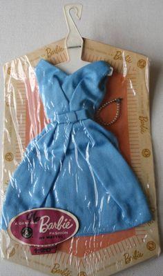 Vintage Barbie Fashion Pak Belle Dress