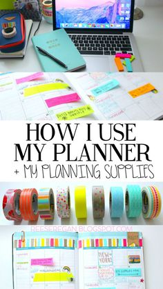 Reese Regan: How I Use My Planner + Supplies!