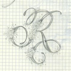 R Ink Flourishes