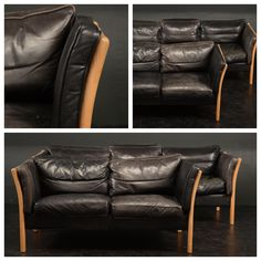 Danish leather sofas Leather Sofas, Danish, Couch, Furniture, Home Decor, Leather Couches, Decoration Home, Room Decor, Leather Sofas Uk