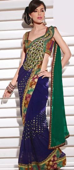 peacock saree #saree #sari #blouse #indian #outfit #shaadi #bridal #fashion #style #desi #designer #wedding #gorgeous #beautiful