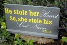 「彼女は彼に心を奪われたので、かわりに名字を頂きました」