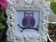 Sleeping Owly by CrumbsandBirds on Etsy, $25.00