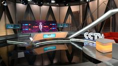 CCTV5 London Olympics Studios « NewscastStudio