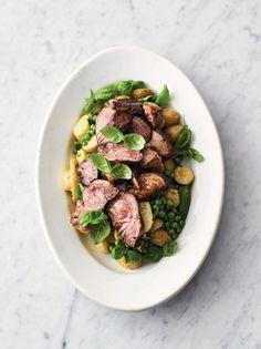 Pan-seared lamb | Jamie Oliver simple lamb recipe