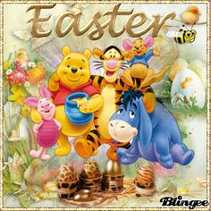 Winnie The Pooh And Friends Easter Gif easter easter gifs easter quotes and sayings easter friend quotes easter animations Cute Winnie The Pooh, Winnie The Pooh Friends, Easter Cats, Happy Easter, Easter Wallpaper, Just Magic, Pictures Images, Photos, Easter Quotes