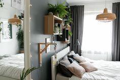 w tym pokoju dbamy o siebie - metamorfoza sypialni - mrspolkadot Oversized Mirror, Bedroom, Inspiration, Furniture, Home Decor, Decoration, Google, Biblical Inspiration, Decor