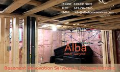 Basement Renovation Services in Ottawa Ontario - Alba Home Services