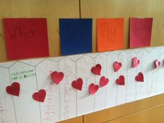"""A """"love your enemies/who's my neighbor?"""" lesson: Have kids write out behaviors and choices that divide us on a paper fence. Cover the fence in hearts with suggestions for how to be good neighbors/love our enemies."""