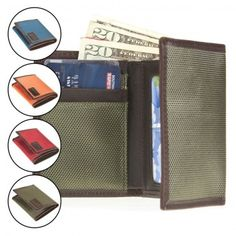 Complete with gift tin, this sporty and stylish men's Eddie Bauer wallet makes the perfect gift for father's day.
