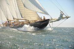 Foto: KEES STUILP  Velero ATLANTIC que en 1905 batió el record de cruce de Atlántico. / In 1905, the three masts Atlantic established a record for the ocean crossing