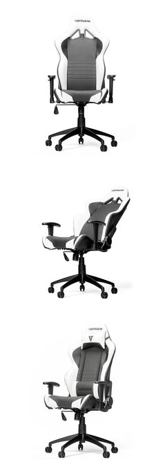 PC Case Gear Vertagear Racing S-Line SL2000 Gaming Chair Black/White [VG-SL2000_WT] - Introducing the Vertagear Racing S-Line SL2000 Gaming Chair. Game in style for long periods of time and remain incredibly comfortable - made from high quality PVC leather with stain and water resistant characteristics, the SL2000 has a dense foam padding that adds great support. Featuring additional lumbar and neck support,