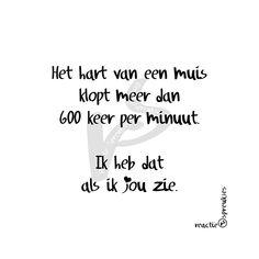 Als ik jou zie <3  (© Heidi, Reactie Spreukjes) #ikkandat #ikhebdat #ikdoedat #humor #lief #spreuk #tekst #liefde