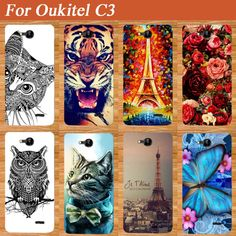 For Oukitel C3 Case Cover Fashion Diy UV Painting Colored Tiger Owl Rose Soft Tpu Case For Oukitel C3 Cover Phone Sheer Bags #>=#>=#>=#>=#> Click on the pin to check out discount price, color, size, shipping, etc. Save and like it!