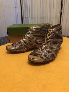 f16a1bdd5f5 Earth Juno - Women s Comfort Dress Sandal Gunmetal - 6 Medium  fashion   clothing