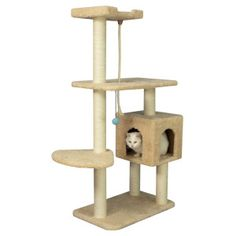 Armarkat Cat Tree Pet Furniture Condo - PetSmart -i think i want this one Wild Bird Food, Wild Birds, Tree Furniture, Animal Projects, Cat Supplies, Pet Care, Condo, Beige, Pets