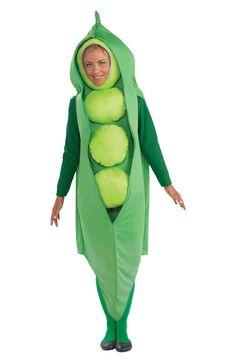 Creepy Scary Costume Peas Adult