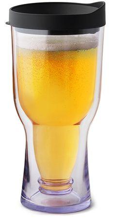 Brew2Go for the Boys :) Holds 16oz of Beer! | theproductfarm.com
